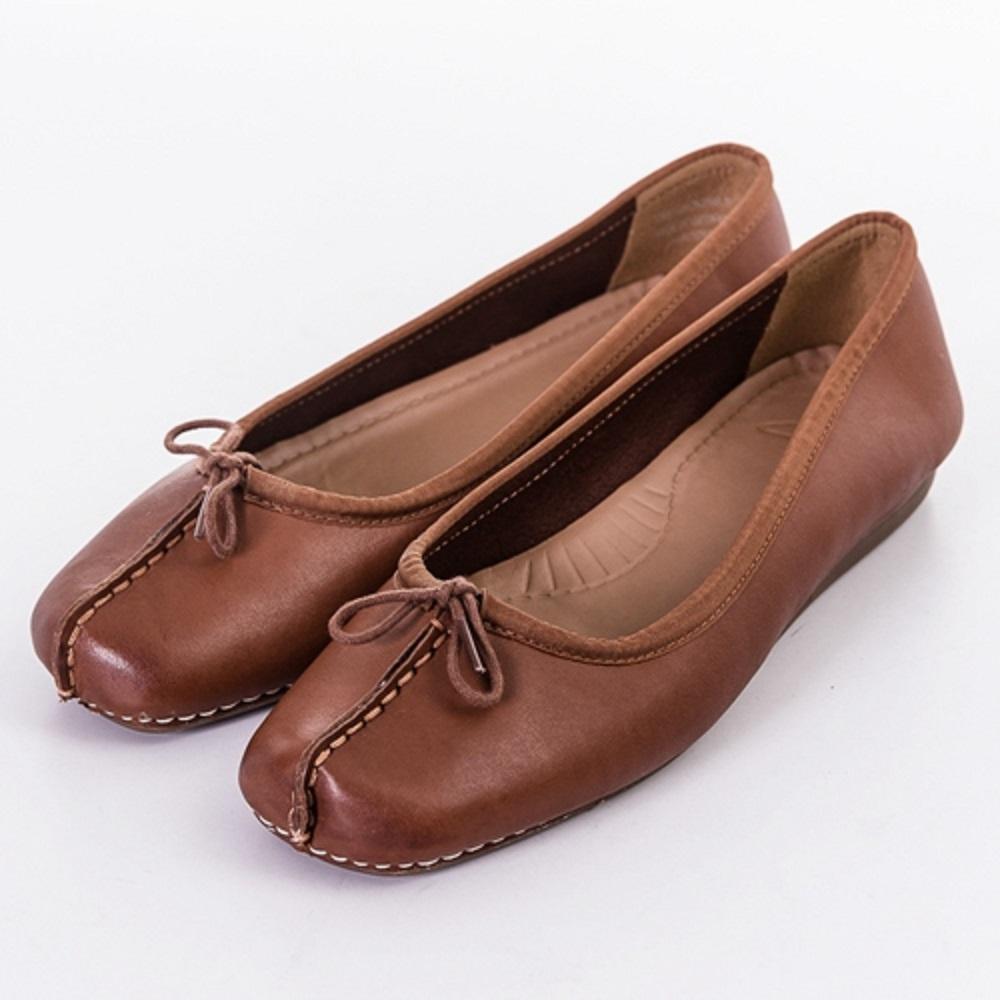 [時時樂限定]Clarks Denny Harbour女休閒鞋 褐