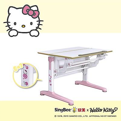 SingBee欣美 Hello Kitty-實木樺木氣壓桌