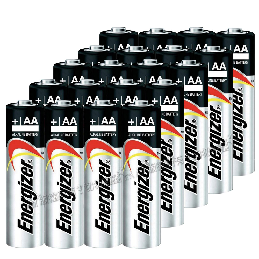 Energizer 勁量 持久型3號鹼性電池 AA (20顆入)