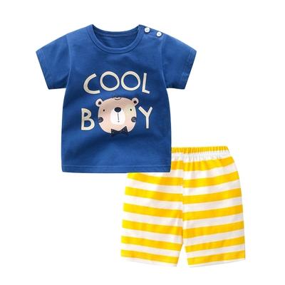 Baby童衣 純棉居家套裝 兒童短袖套裝睡衣 88751