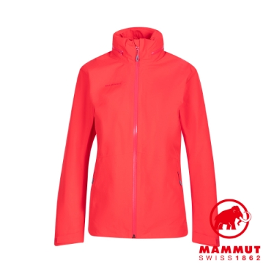 【Mammut 長毛象】Ayako Tour HS Hooded Jacket Women GTX 防水連帽外套 日落紅 女款 #1010-28580
