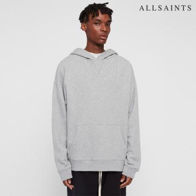 ALLSAINTS KYLE 純棉素色簡約連帽長袖T恤