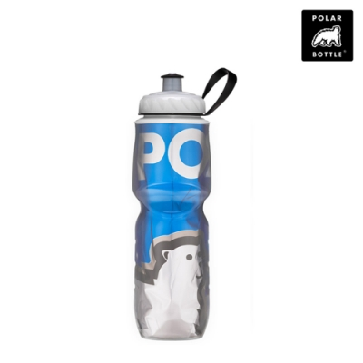 【Polar Bottle】24oz保冷水壺 大熊系列 Big Bear Blue