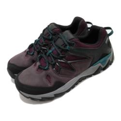 Merrell 戶外鞋 All Out Blaze 2 GTX 女鞋 登山 越野 耐磨 黃金大底 防潑水 麂皮 紫 黑 ML09692