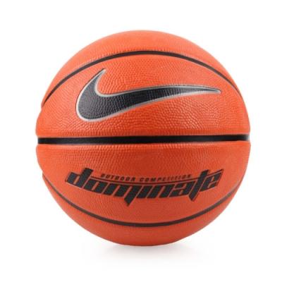 NIKE DOMINATE 5號籃球-戶外 NKI0084705 橘黑