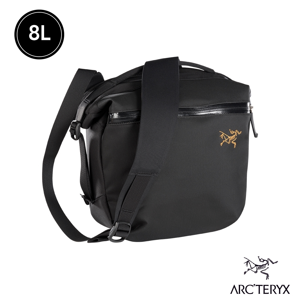 Arcteryx 始祖鳥 Arro 8L 多功能斜背包 黑