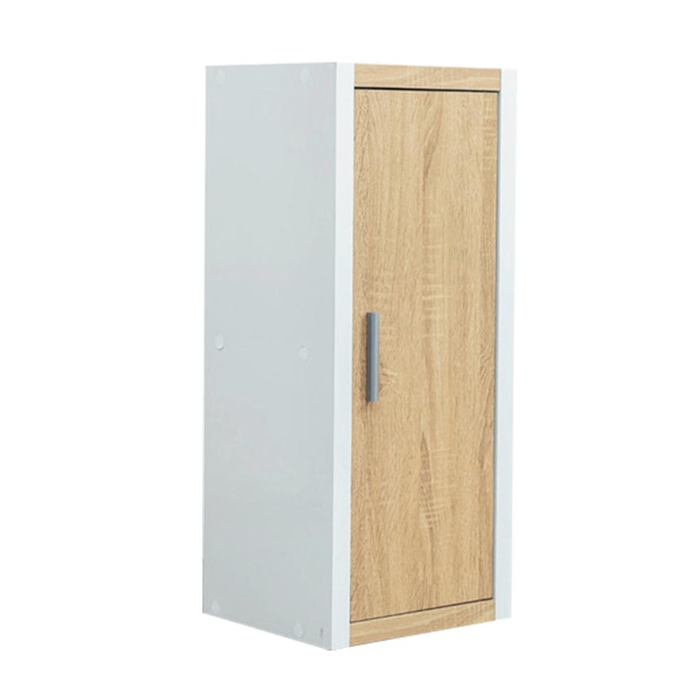【綠活居】丹麥   現代1.1尺單門二格收納櫃(二色可選)-33x29x78cm免組