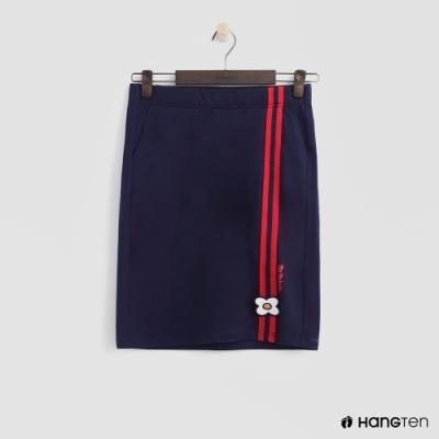 Hang Ten - 女裝 - Sanrio-小花logo造型短裙-藍