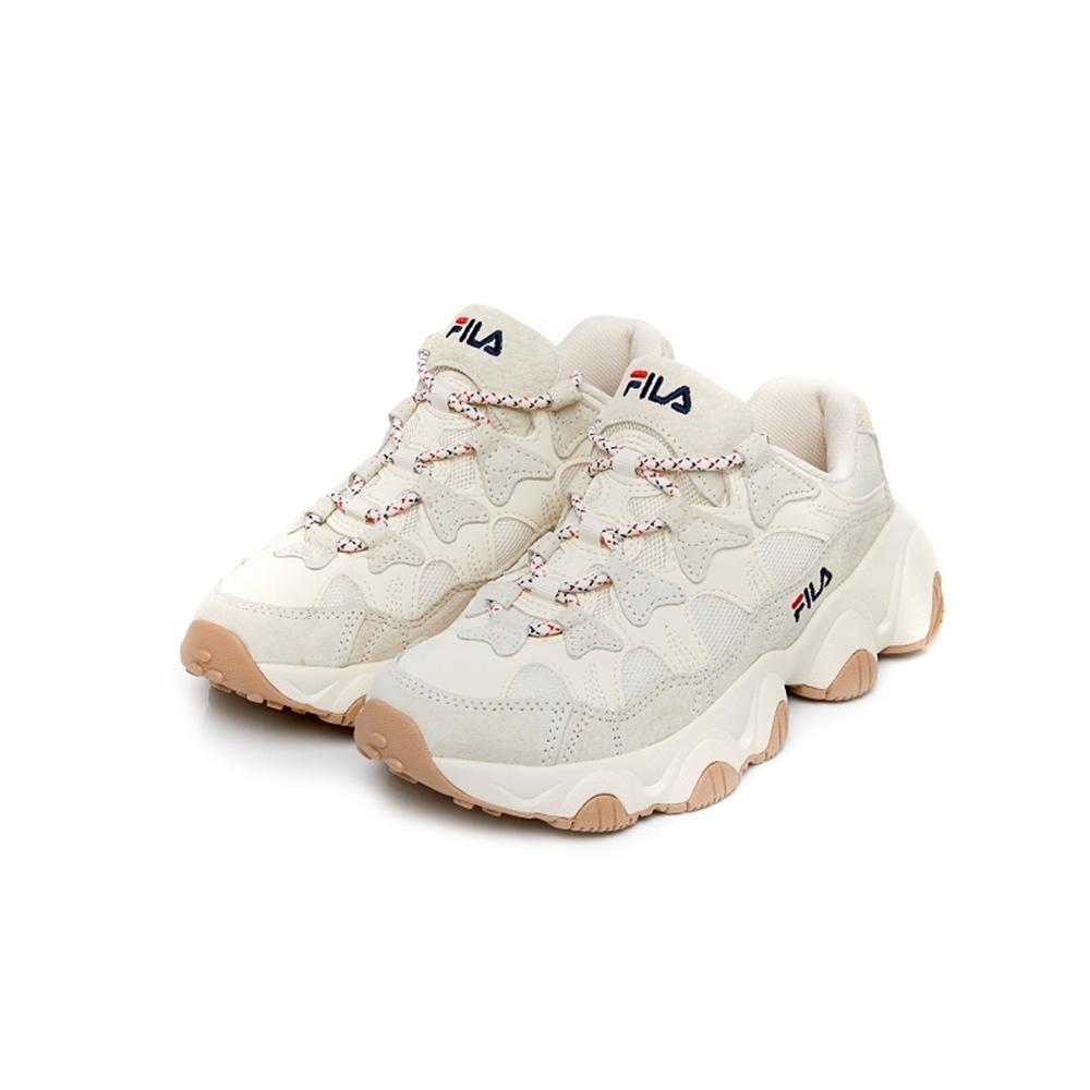 FILA JAGGER 1998 中性復古運動鞋-奶茶色 4-X016V-166