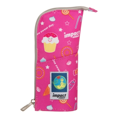 【IMPACT】 怡寶冰淇淋天堂筆袋-粉紅 IM00053PK