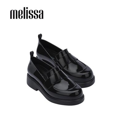 Melissa FLASH氣質厚底樂福鞋-黑