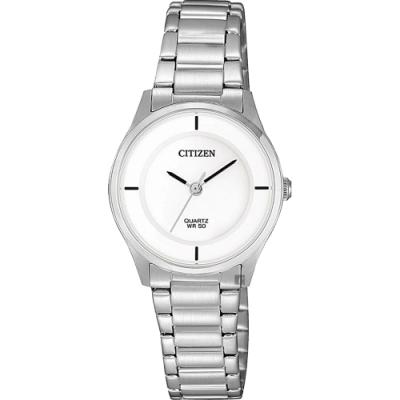 CITIZEN 星辰 小清新石英女錶-26mm(ER0201-81B)