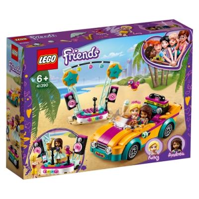 樂高LEGO Friends系列 - LT41390 安德里亞的汽車和舞台