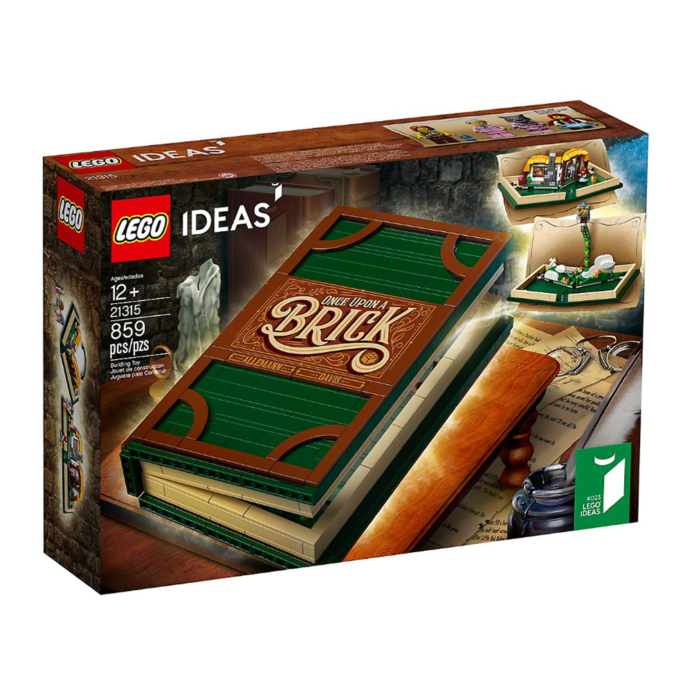 樂高LEGO IDEAS系列 - LT21315 Pop-Up Book立體書