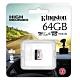 金士頓 Kingston High Endurance microSDXC 64G 高耐專用記憶卡 SDCE/64GB U1 A1 product thumbnail 1