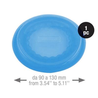 義大利製SiliKoMart-聰明保鮮蓋CAPFLEX藍色-XL(9cm)