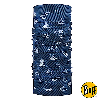 《BUFF》兒童Plus經典頭巾-野外趣事 BF118340-787