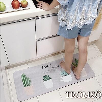 TROMSO廚房防油皮革地墊-K303北歐小植物