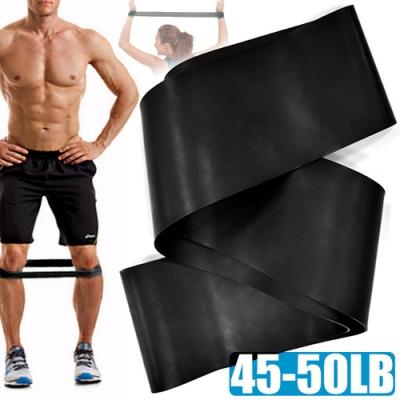 45~50磅環狀彈力帶(翹臀圈TPE阻力繩/拉筋阻力帶拉力帶/彈力繩拉力繩/抗力瑜珈帶伸展帶/瑜珈圈拉力圈)