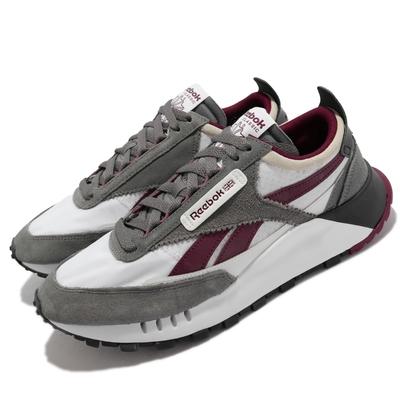 Reebok 休閒鞋 CL Legacy 運動 男鞋 海外限定 球鞋穿搭 厚底 增高 麂皮 灰 白 FY7748
