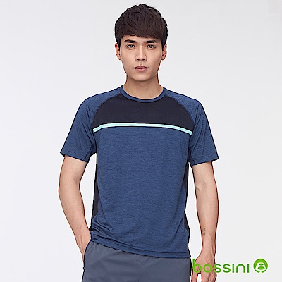 bossini男裝-ZtayDry快乾圓領短袖T恤05海軍藍
