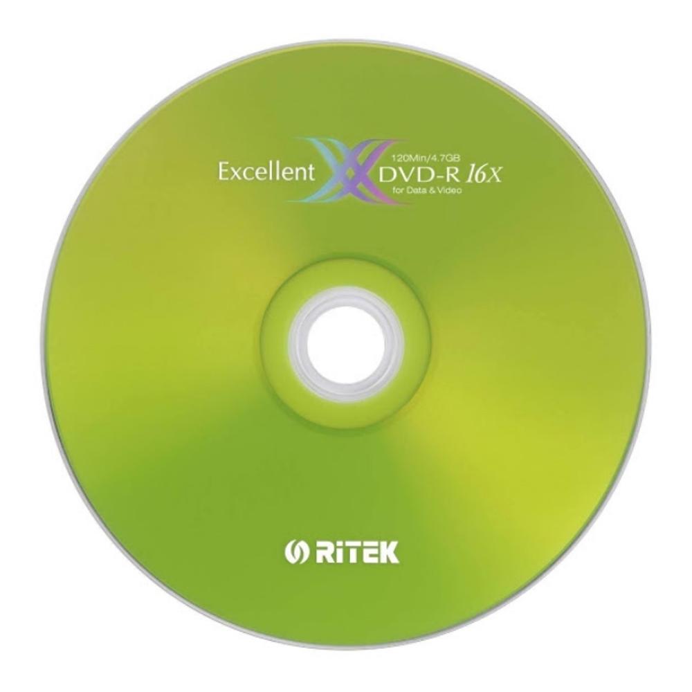 錸德 RiTEK 16X DVD-R 100片裝