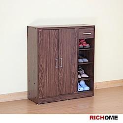 RICHOME超值雙門一抽鞋櫃
