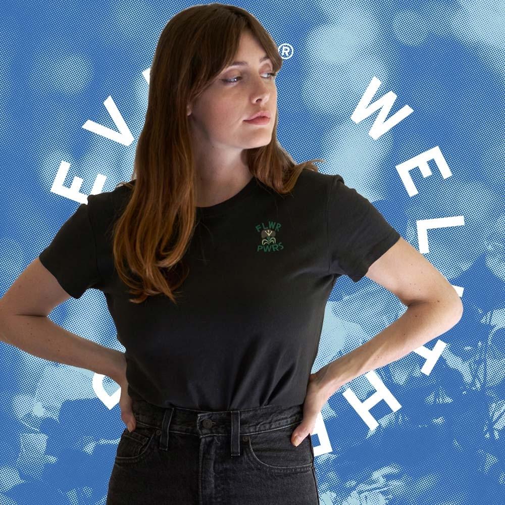Levis Wellthread環境友善系列 女款 短袖T恤 棉麻混紡工法 低加工保留布料原始質感