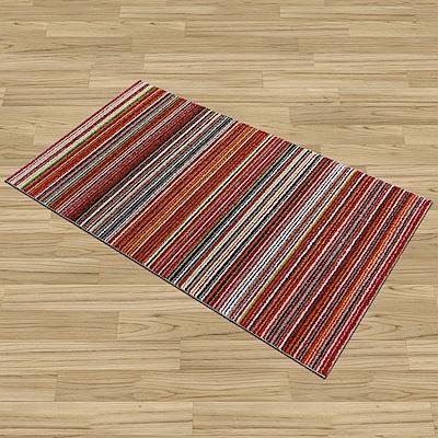 Ambience-比利時Nomad床邊/走道地毯 -馬雅(橘)(67x130cm)