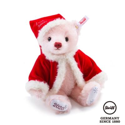 STEIFF德國金耳釦泰迪熊 Littke Santa 小小聖誕老人 (海外限量版)