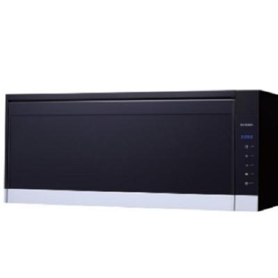 (全省安裝)櫻花懸掛式臭氧殺菌烘碗機90cm烘碗機B黑Q-7583XL