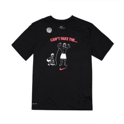 Nike T恤 Training T-Shirts 男款 Dri-FIT 吸濕排汗 健身 重訓 圓領 黑 白 DA1582010