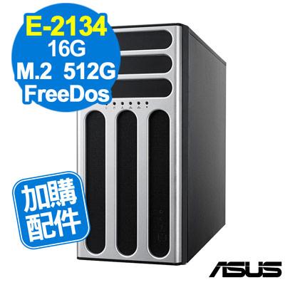 ASUS TS300-E10 E-2134/16GB/660P 512G/FD