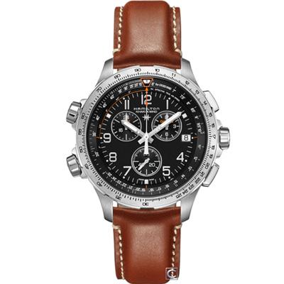 Hamilton Khaki GMT多功能計時腕錶(H77912535)