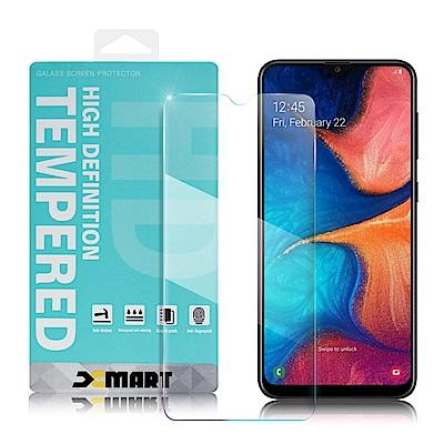 Xmart for Samsung Galaxy A20 薄型 9H 玻璃保護貼-非滿版