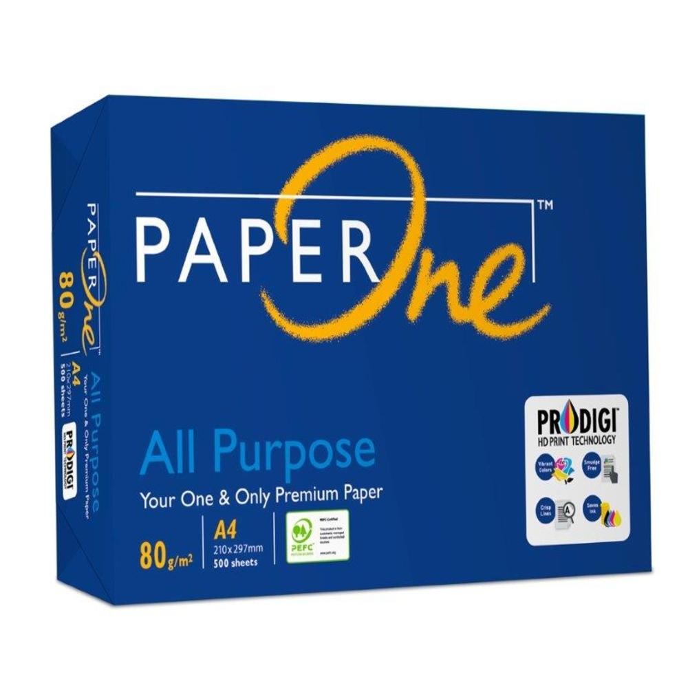 PaperOne All Purpose 多功能影印紙 A4 80G 5包/箱