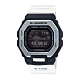CASIO卡西歐 G-SHOCK 藍牙 雙重材質錶圈 衝浪運動 GBX-100-7_46mm product thumbnail 1