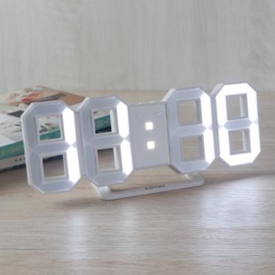 KINYO立體LED數字鐘TD395