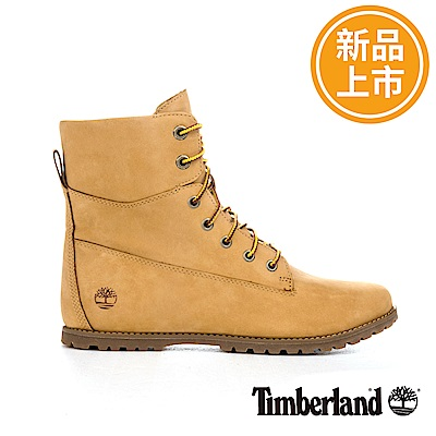 Timberland 女款小麥黃絨面革Joslin高筒休閒靴
