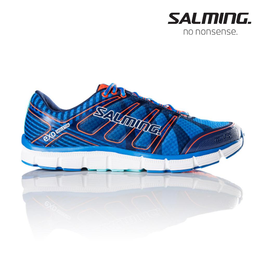 Salming MILES 寬楦 男訓練慢跑鞋 藍