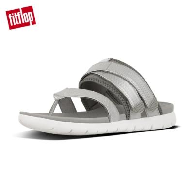 FitFlop NEOFLEX TOE-THONG SANDAL-淺灰/銀色