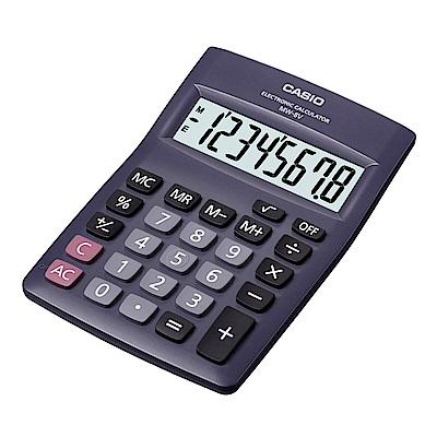 CASIO   8位數桌上型國家考試專用計算機(MW-8V-BK) 黑