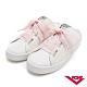 【PONY】TOP STAR皮革時尚休閒懶人穆勒鞋 小白鞋 拖鞋 涼鞋 白色 product thumbnail 1