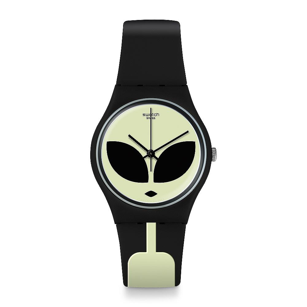 Swatch THINK FUN系列 TELEFON MAISON外星突擊手錶