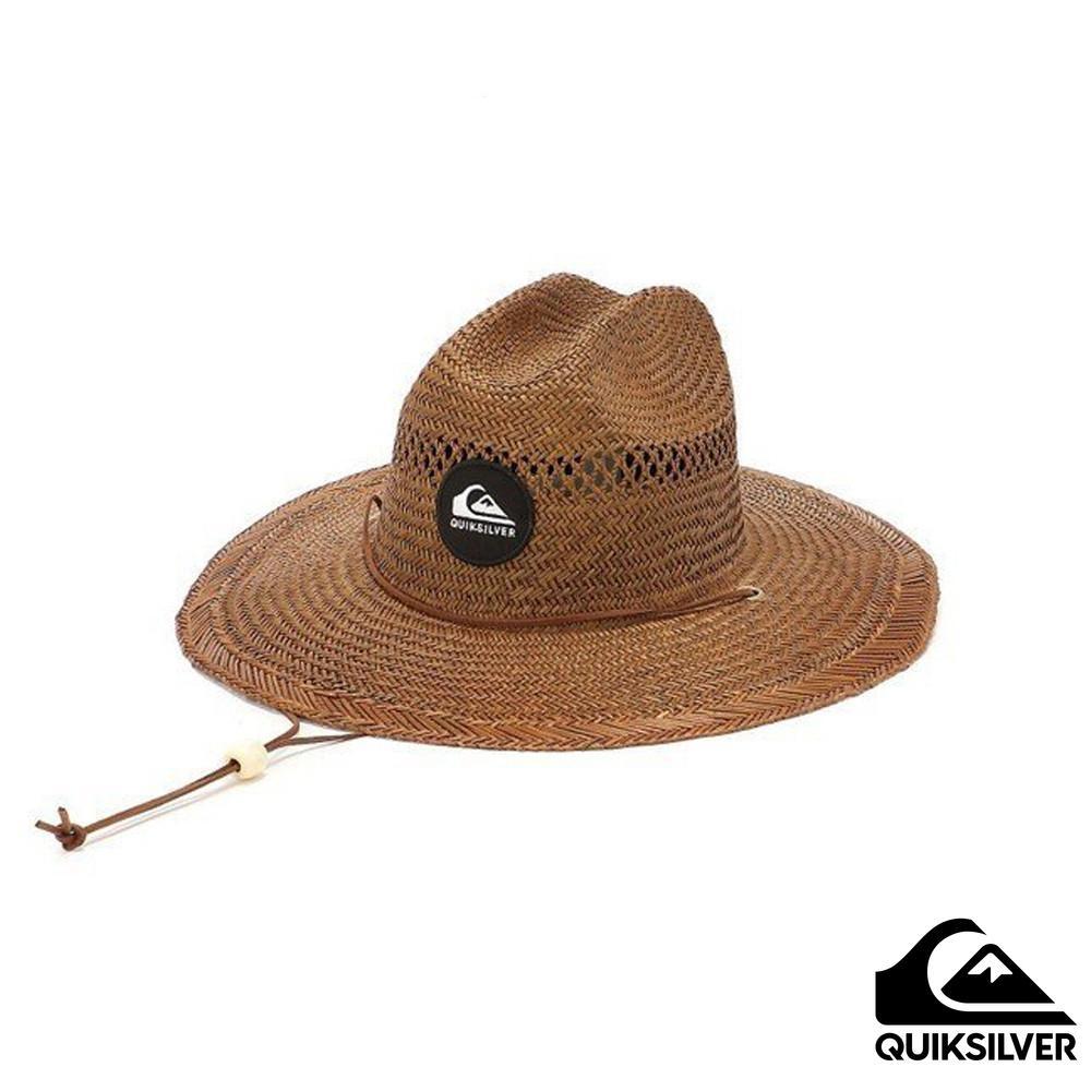 【Quiksilver】PIERSIDE SLIMBOT 草編帽 咖啡