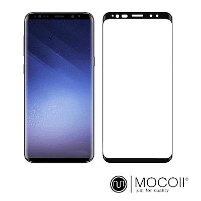 Mocoll - 3D 9H 鋼化玻璃膜 - 三星 S9+ 專用 ( 黑色 )