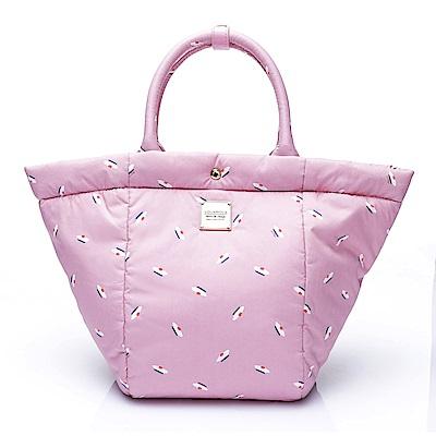 VOVAROVA空氣包-造型百變托特包-French Pom Pom(Pink)