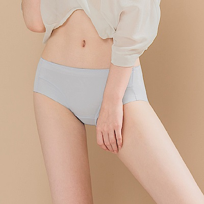 無痕透氣超健康吸濕排汗包臀中腰M-XL內褲 透視狂想 可蘭霓Clany