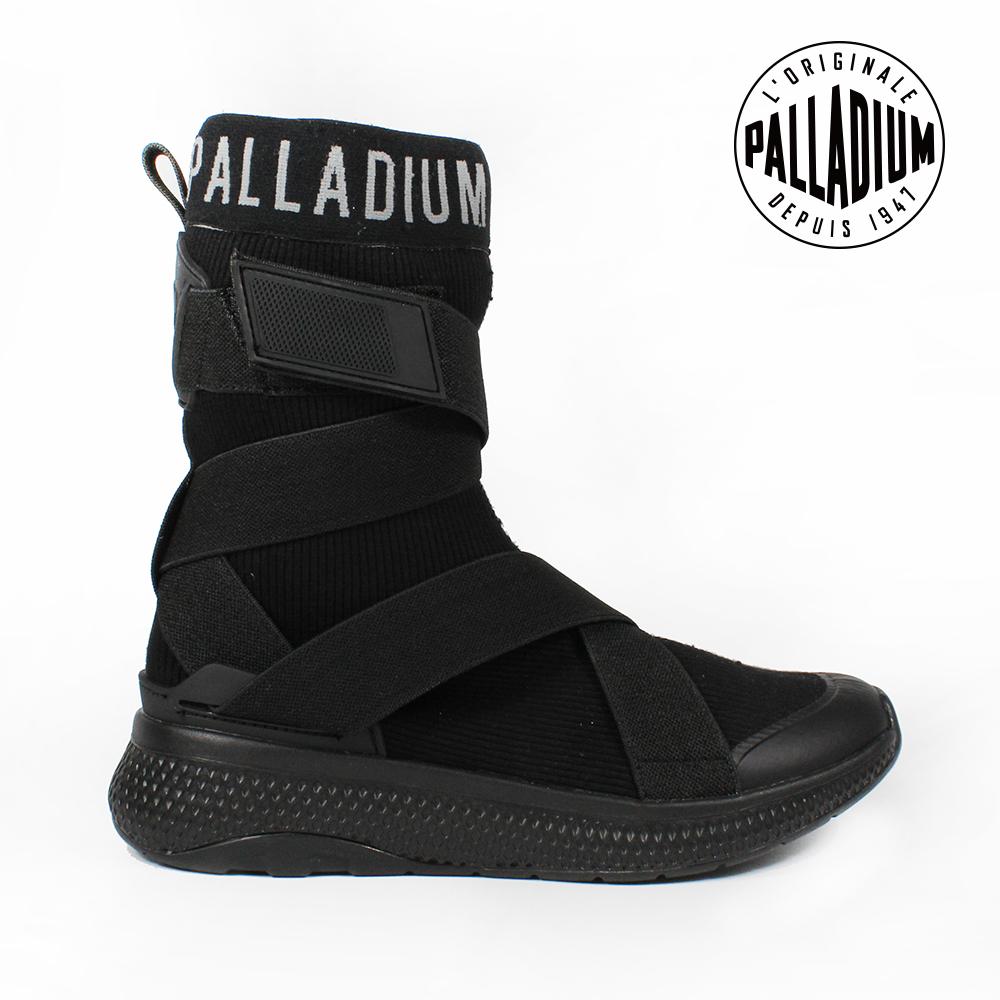 Palladium AX_EON STRAP AMPHIBIAN慢跑鞋-女-黑