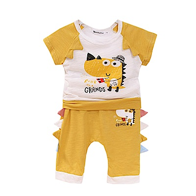 恐龍短袖套裝 k50524 魔法Baby